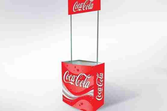Mostrador Professional Promo Stand Plástico