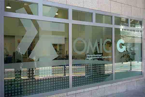 Decoración interior para OMIC Getafe