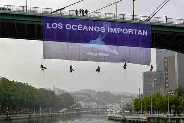 Lona Los océanos importan, de Greenpeace