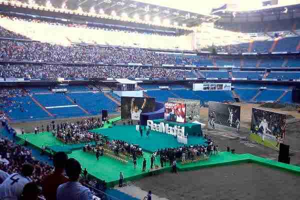 Presentación deportiva del Real Madrid CF