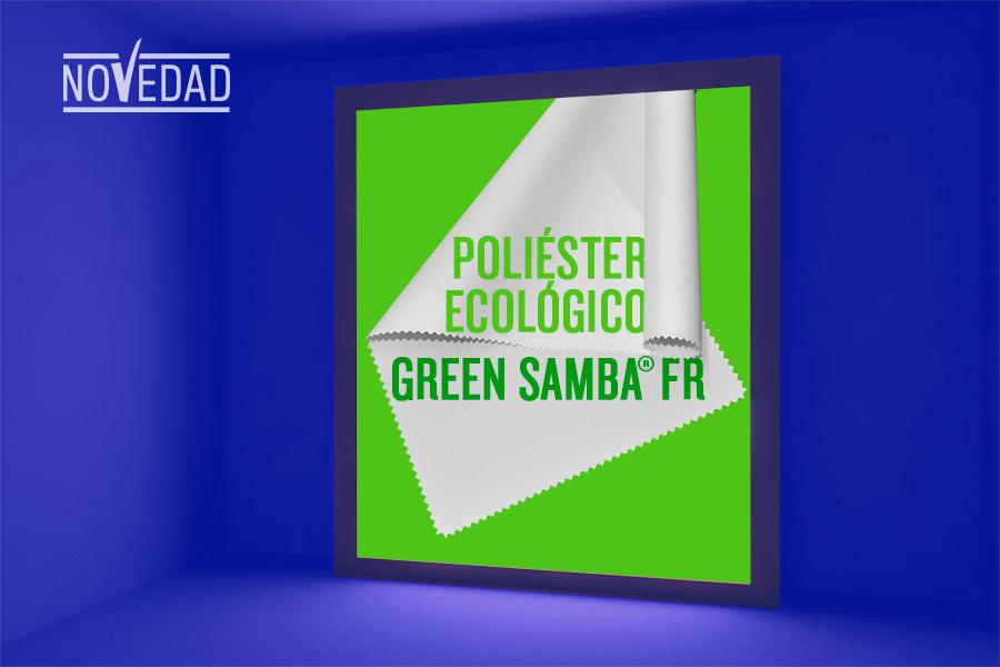 green samba fr poliester reciclado