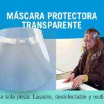mascara protectora de contagios